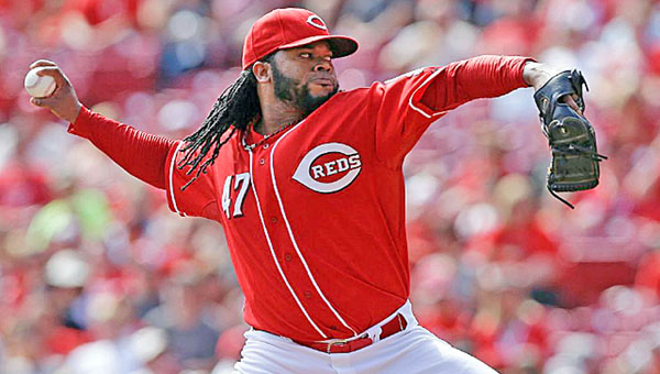 Cincinnati Reds' 20-game winner Johnny Cueto is hoping to get a new contract before the start of the season. (Courtesy of the Cincinnati Reds.com)
