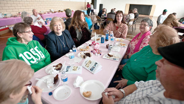 Area residents gathered at the Chesapeake Community Center as the CMO celebrated 30 years with the food pantry bank.