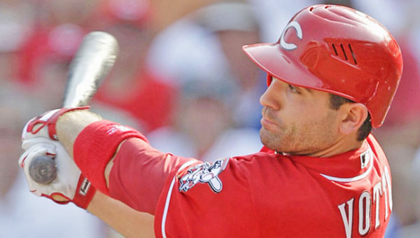 A healthy Joey Votto will be just one of the keys to the Cincinnati Reds' season. (MCT Direct Photo)