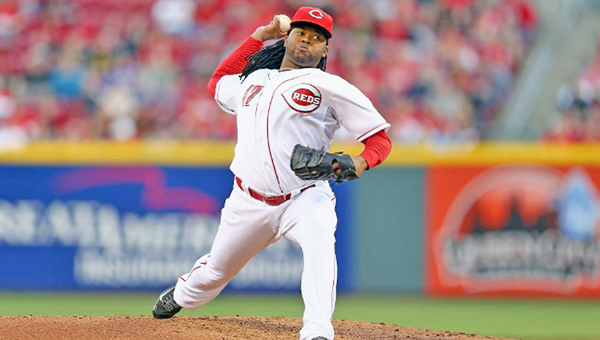 Cincinnati Reds' ace right-hander Johnny Cueto starts the opener today against the Pittsburgh Pirates at Great American Ball Park. (MCT Direct Photo)