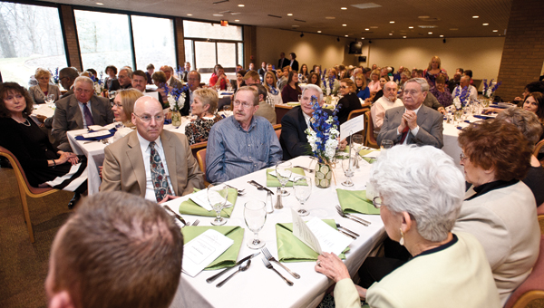 Ashland Mayor Chuck Charles was honored during the Leadership Tri-State community service award luncheon Thursday.