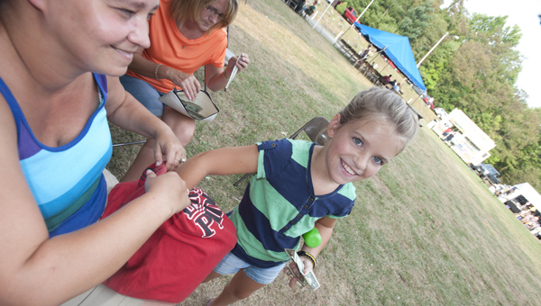 Photo from the Coal Grove Betterment Club's 2014 Family Fun Days.