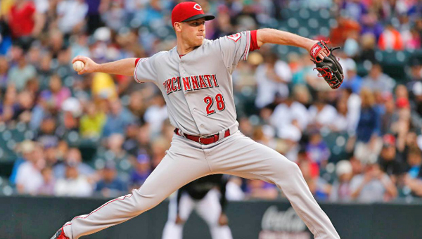 Rookie Anthony DeSclafani threw seven solid innings and left with a 4-3 lead, but the bullpen could not hold the lead as the Cincinnati Reds lost to the Colorado Rockies 6-5 on a wild pitch in the bottom of the ninth inning on Friday. (Courtesy of The Cincinnati Reds.com)