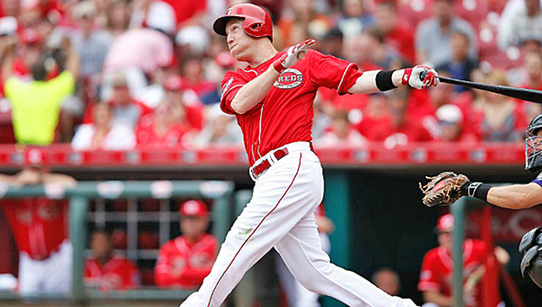 Cincinnati Reds' third baseman Todd Frazier was voted to the National League starting lineup for the All-Star Game on Tuesday, July 14, in Cincinnati. (Courtesy of The Cincinnati Reds.com)