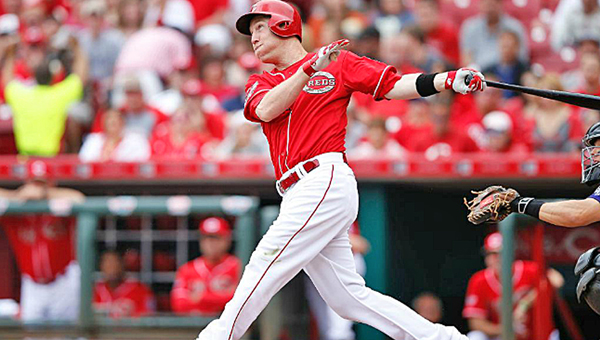 Cincinnati Reds' third baseman Todd Frazier will not only be starting in Tuesday's Major League Baseball All-Star Game, but he has been chosen to compete for the National League in the annual Home Run Derby on Monday. (Courtesy of The Cincinnati Reds.com)