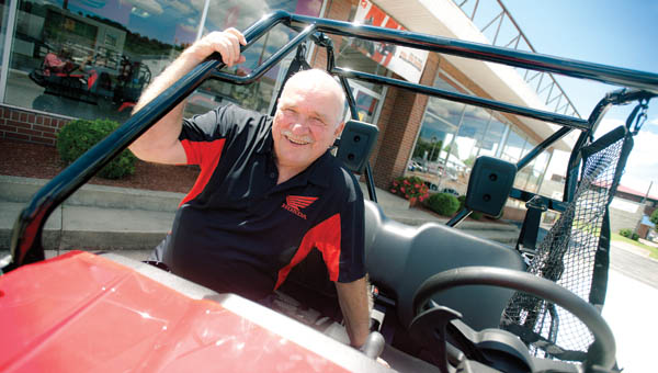 Frank Harmon of Harmon Motor Sales marks 50 years in business.
