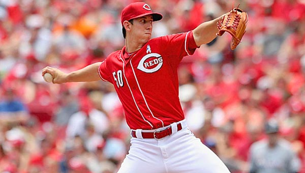 Cincinnati rookie pitcher Michael Lorenzen will go against the Milwaukee Brewers on Friday as the Reds begin a three-game series. The Reds are looking to remain ahead of the Brewers in the NL Central Division standings. (Courtesy of The Cincinnati Reds.com)