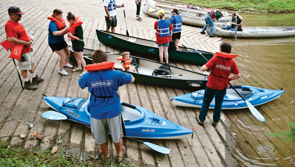 Annual event helps restoration committee keep Symmes Creek clean.