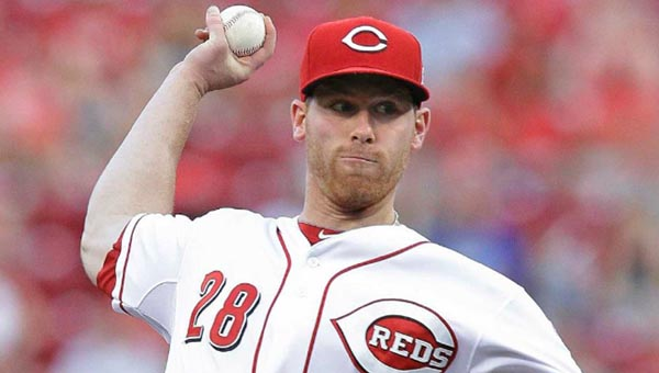 Cincinnati Reds' rookie pitcher Anthony DeSclafani worked six innings and gave up just two runs to beat the St. Louis Cardinals for the second time in a week on Tuesday, 3-2. (Courtesy of The Cincinnati Reds.com)