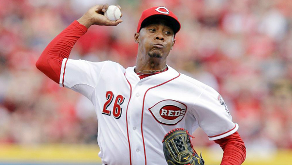Cincinnati rookie pitcher Raisel Iglesias delivers a pitch during the Reds 4-3 win over the Pittsburgh Pirates on Saturday. (Courtesy of the Cincinnati Reds.com)