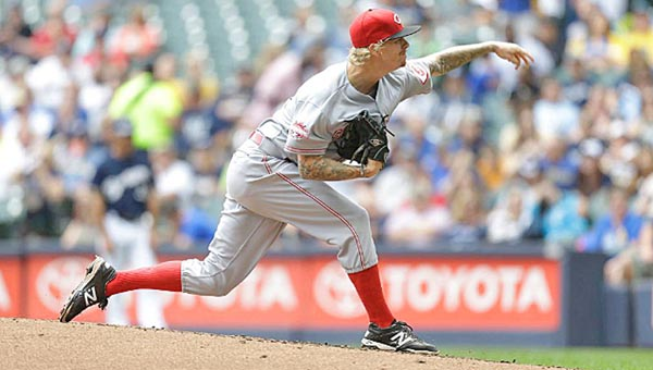 Cincinnati rookie lefthander Jon Lamb had his best performance since being called up to the major leagues on Sunday, but he still failed to get a win as the Reds lost 4-1 to the Milwaukee Brewers. (Photo Courtesy of The Cincinnati Reds.com)
