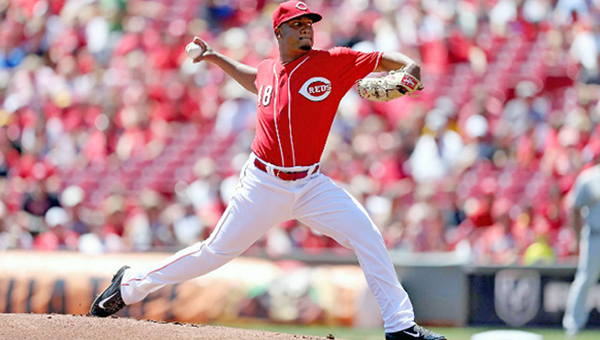 Cincinnati's rookie Keyvius Sampson struck out six batters in five innings of his Reds' debut, but the Pittsburgh Pirates spoiled the effort with a 3-0 win on Sunday. (Courtesy of The Cincinnati Reds.com)