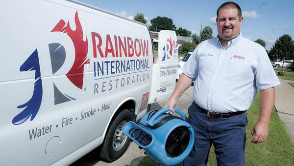 Sean Wood, owner of Rainbow International Restoration.