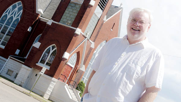 Pastor Wayne Rollins of the  St. Paul Lutheran Church in Ironton.