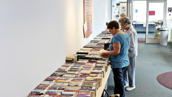 The Friends of the Library put on a book sale this weekend at the Ironton branch of the Briggs Lawrence County Library.