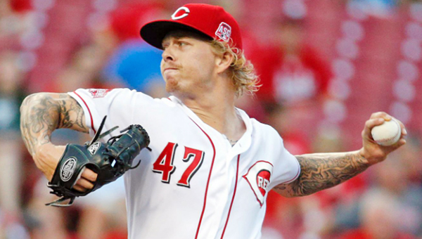 Cincinnati Reds' rookie left-hander Jon Lamb went five innings and recorded his first career victory on Thursday in a 11-0 rout of the St. Louis Cardinals. Lamb also got his first career run batted in. (Photo Courtesy of The Cincinnati Reds.com)