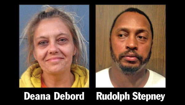 Deana L. Debord, 45 of 4083 Owl Creek Road, Lucasville, and Rudolph Marion-Turner Stepney Jr., 41 of 9338 North Martindale St., Detroit were arrested in South Point.