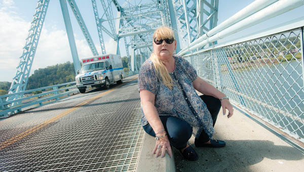 Ironton resident Elle Dew is on a mission to save the Ironton-Russell Bridge. The bridge is the last of its kind in the country.