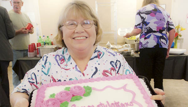 Long-time employee Debbie Moore of Sanctuary of the Ohio Valley, formerly Bryant's Nursing Home, has retired after 33 years.