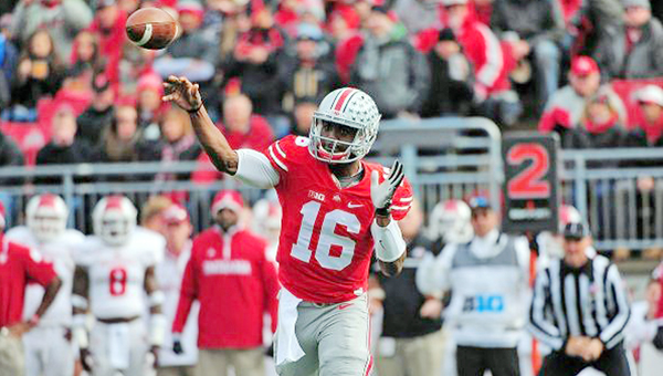 Ohio State head football coach Urban Meyer said Tuesday that J.T. Barrett will be the starting quarterback for the Buckeyes this Saturday night against Rutgers. (MCT Direct photo)