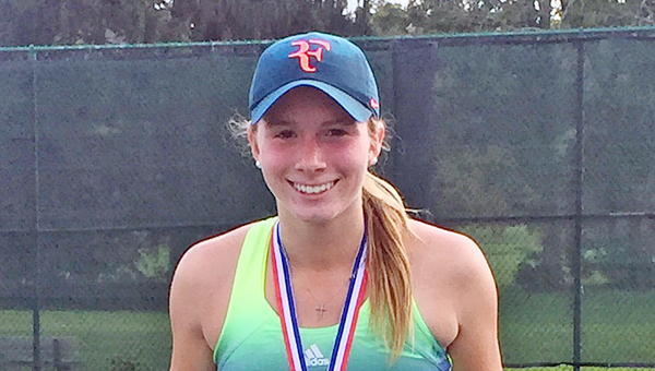 South Point Lady Pointers' senior tennis standout Madison Riley earned the Southeast District's No. 1 seed and a third straight state tournament berth.
