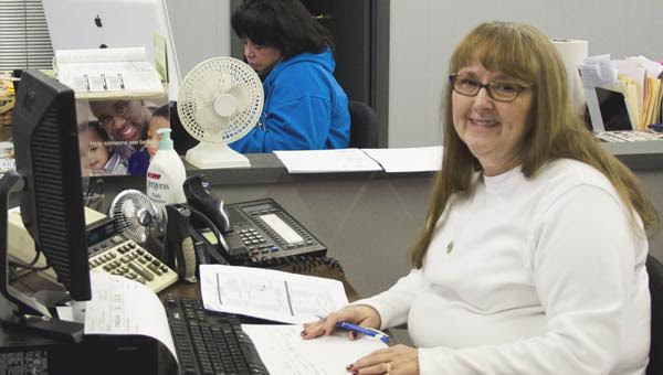 Debbie Milem, who has served in customer service and as the circulation clerk for The Tribune for the past 13 years retires.