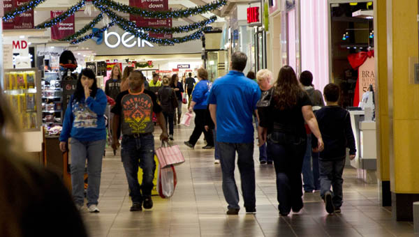 Shoppers were out at dawn on Black Friday to take part in holiday sales at the Ashland Town Center.