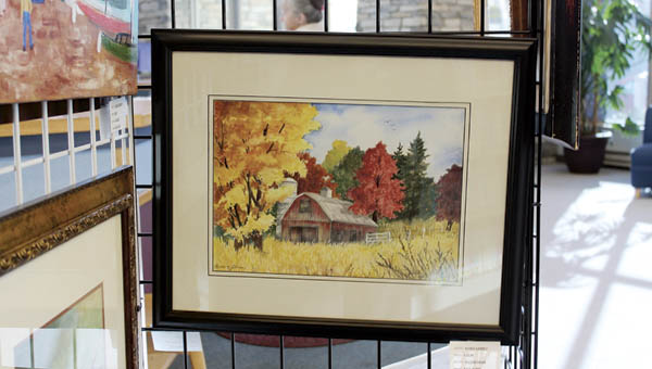 Paintings by Ashland artist Janice LeBrun are now on display at the Ironton Lawrence Briggs Library.