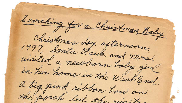 Virginia woman searching for Christmas memory