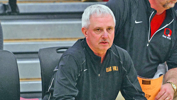 Former Chesapeake Panthers' and current Oak Hill boys' basketball coach Norm Persin has been elected to the Ohio High School Basketball Coaches' Association Hall of Fame. (Kent Sanborn of Southern Ohio Sports Photos.com)