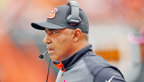 Cincinnati Bengals' head coach Marvin Lewis is coming under fire for not controlling his players during Saturday's stunning playoff loss to the Pittsburgh Steelers. (MCT Direct Photo)