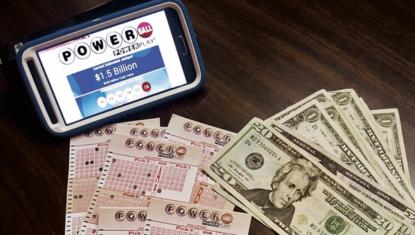 The Powerball jackpot is at a world-record $1.5 billion for Wednesday night's drawing.