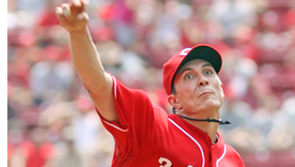 Homer Bailey is expected to be the ace of the Cincinnati Reds' pitching staff, but he is still recovering from arm surgery last season and is not expected to pitch this year until mid-May. (Photo Courtesy of The Cincinnati Reds.com)