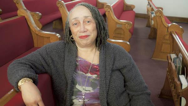 The Rev. Margaret Tyson of the Quinn Chapel Church in Ironton.
