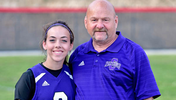 """""""She could fit in the palm of your hand,"""" said Aaron Rice, the Chesapeake Lady Panthers' head softball coach and Laura's father."""