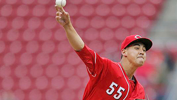 Rookie Robert Stephenson became the first Reds' pitcher to go seven innings on Tuesday in a 4-3 win over the Colorado Rockies. (Photo Courtesy of The Cincinnati Reds.com)