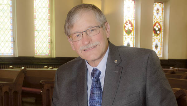 Carson Hunt is the latest pastor at the Ironton First Presbyterian Church.