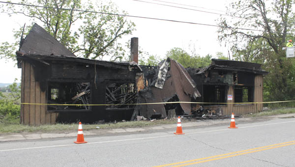 An overnight fire destroyed a vacant building in Chesapeake. The building was a former lawyer's office and the fire is a suspected arson.