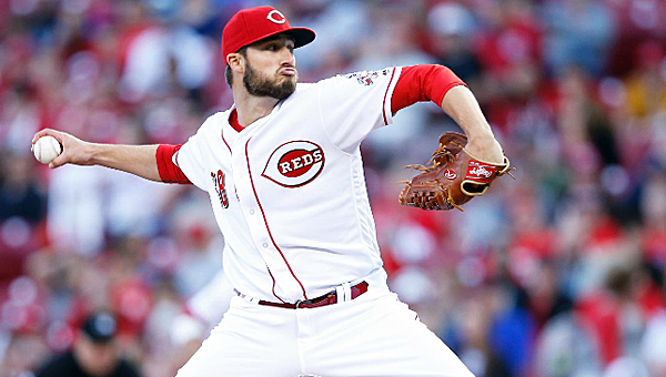 Tim Adleman got his first Major League victory in his second career start, pitching five innings of one-run ball. (Joe Robbins of Getty Images/Cincinnati Reds.com)