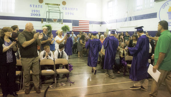 The Open Door School class of 2016 had seven graduates Thursday. It is one of the largest graduating classes of the school.