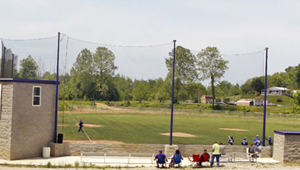 St. Joseph Central Catholic High School held a field dedication on Wednesday in celebration of its first-ever school owned baseball field and to honor those who helped make the project materialize. (Tim Gearhart of Tim's News & Novelties on Park Ave. in Ironton)