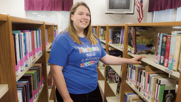 Dawson-Bryant High School student Emily Wilcox is one of five seniors across the state of Ohio receiving the 2015 Children's Defense Fund Ohio Beat the Odds Award.