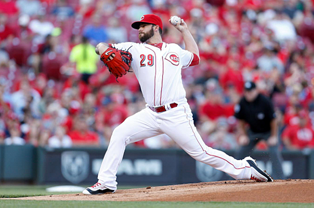 Cincinnati starting pitcher Brandon Finnegan allowed just two runs in seven innings but the Reds lost to the St. Louis Cardinals 3-2 on Thursday. (Courtesy of the Cincinnati Reds.com/Kirk Irwin - Gettys Images)
