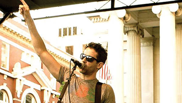 Rich Collins will perform Tuesday during the Glockner Summer Concert Series.