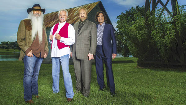 The Oak Ridge Boys will headline at the Lawrence County Fair for Bicentennial Day on Thursday, July 14.