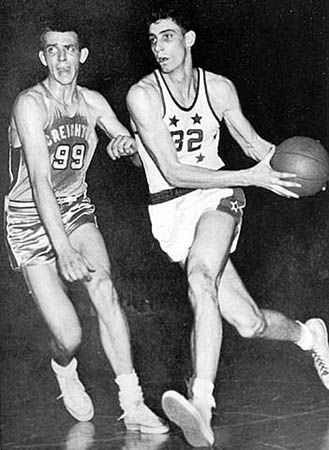 Rio Grande legendary basketball great Bevo Francis (32) has been elected to the Small College Hall of Fame's first class of honorees.