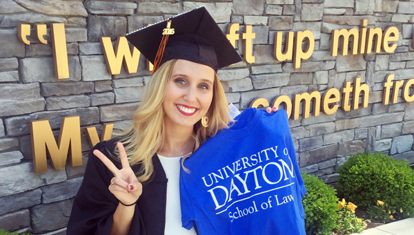 Former Coal Grove Lady Hornets' volleyball player Haley Johnson recently graduated as valedictorian from the University of Pikeville where she was a four-year starter in volleyball and an NAIA and Mid-South Conference all-academic selection. (Photo Submitted)