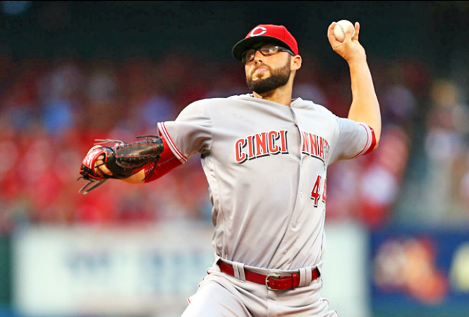 Cincinnati Reds' starting pitcher Cody Reed threw six scoreless innings and was in line to get his first career victory but the bullpen failed to keep a 4-0 lead as the St. Louis Cardinals rallied in the ninth for a 5-4 win on Monday. (Photo Courtesy of The Cincinnati Reds.com/Dilip Vishwanat — Getty Image)