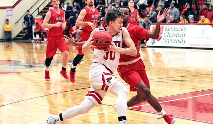 Barnes gets 1,000 career points for college career - The ...